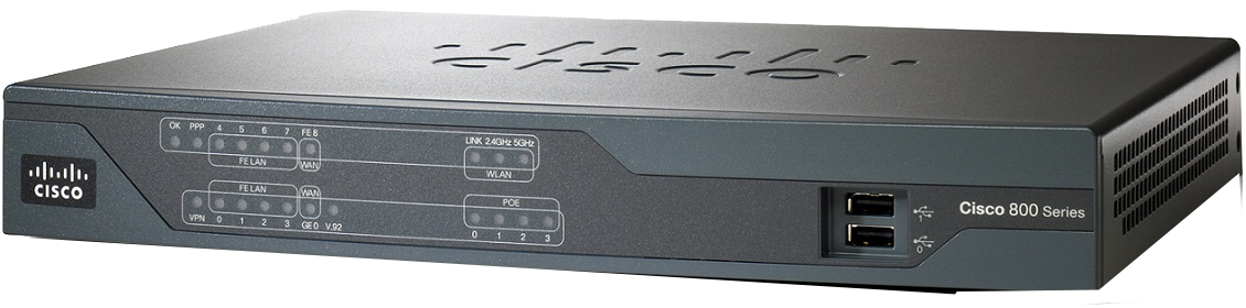 Cisco 880 Series PN CISCO881-SEC-K9