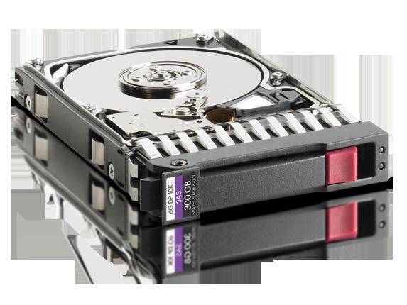 HP Proliant DL380E G9 300GB 6GB//s SAS 10K 2.5 DP Hard Drive